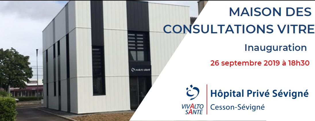 26 septembre 2019 : inauguration des Consultations Avancées à Vitré