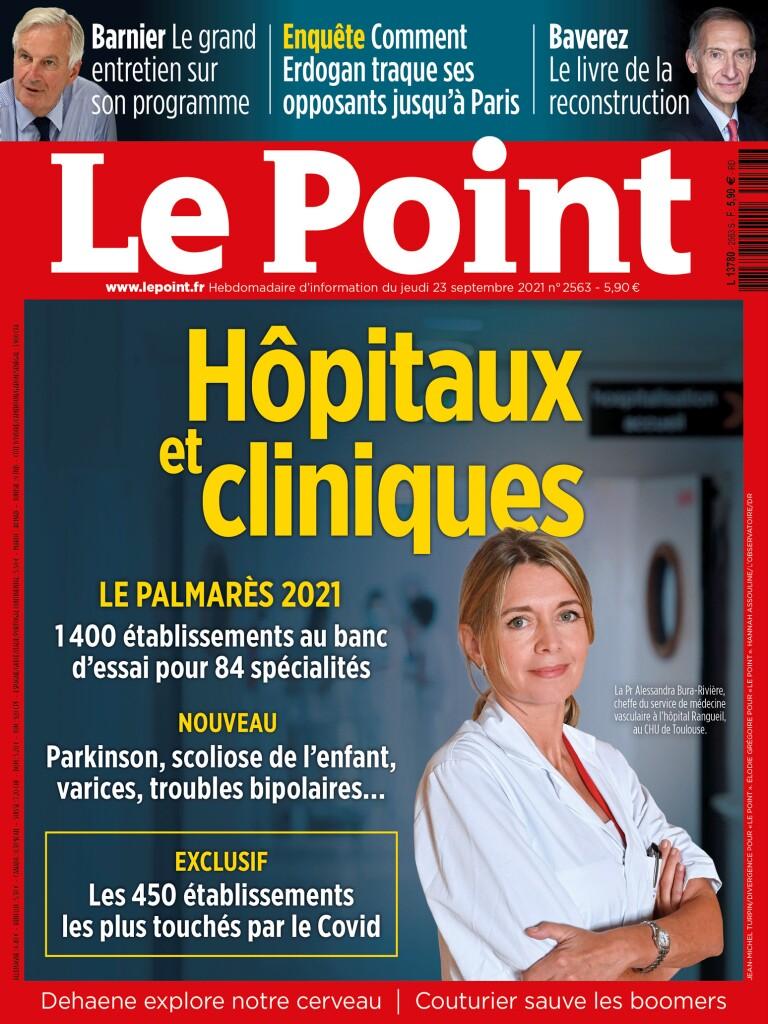 PALMARES LE POINT – De nombreuses spécialités représentées à l'Hôpital Privé Sévigné